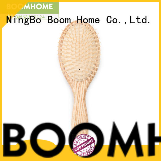 New wooden hair brush carry for sale for home
