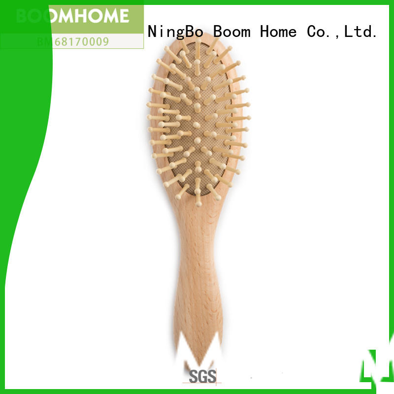 Boom Home boar hair baby hair brush directly sale for household