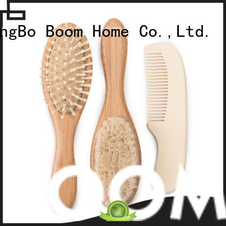 Boom Home soft infant hair brush from China for infant