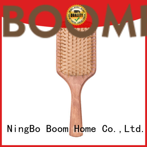 Boom Home horn wooden hair comb design for shop