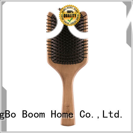 hair brush with wooden handle massage for hotel Boom Home