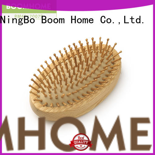 Boom Home eco-friendly wooden hair comb with good price for shop