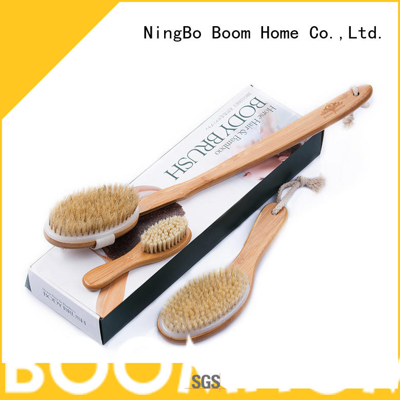 Boom Home natural body cleaning brush customized for body