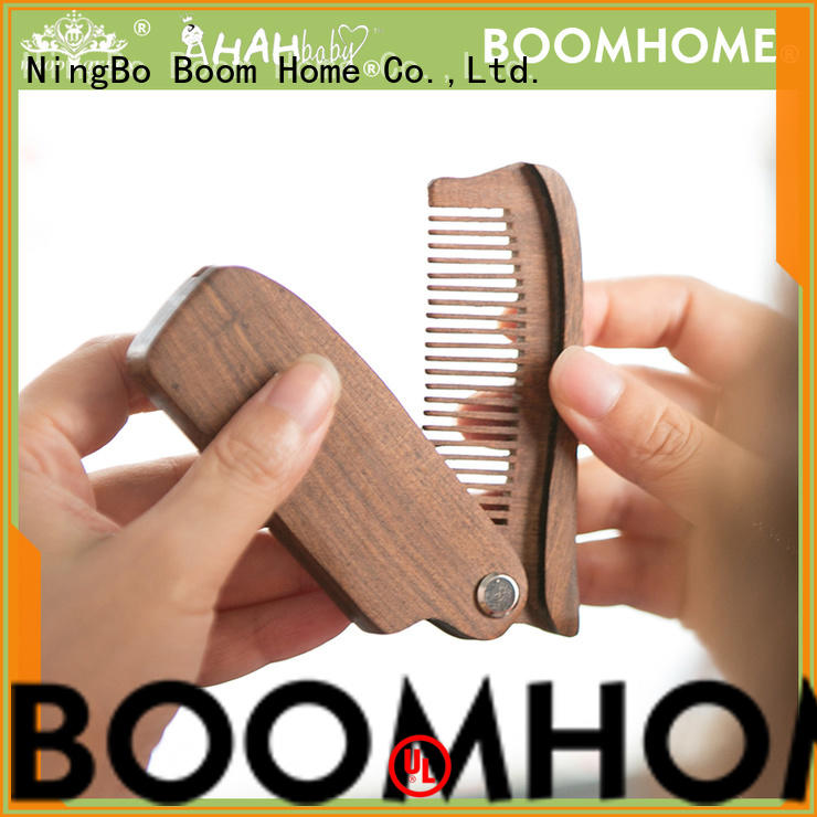 Boom Home eco-friendly wooden handle hair brush factory for shop