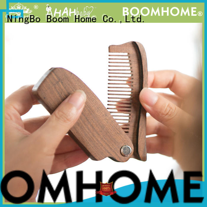 New wooden paddle hair brush easy company for travel