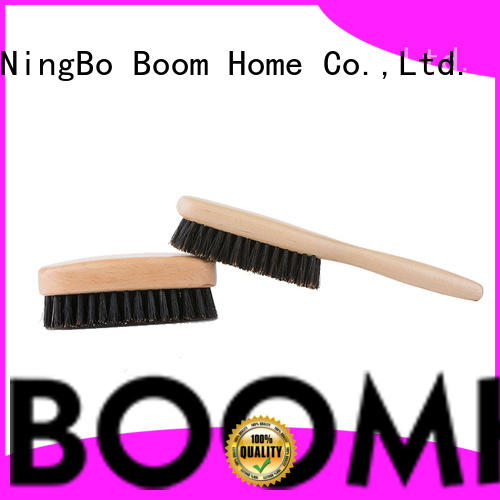 Boom Home wooden boar hair brush with good price for bathroom