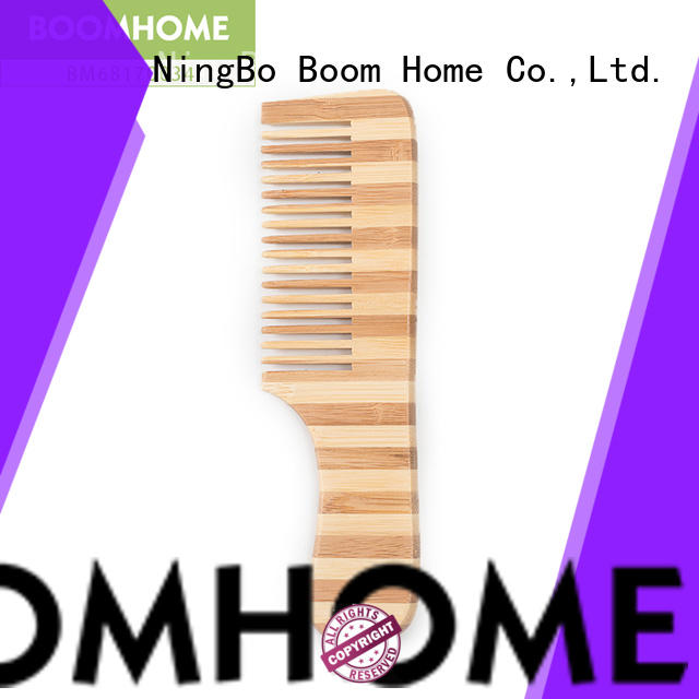 Boom Home wood bamboo comb factory price for thick hair