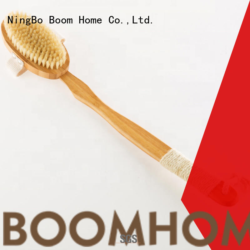 Boom Home bristle back brush from China for shower