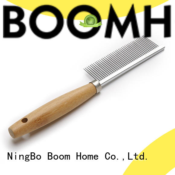 double sided soft bristle dog brush design for pets Boom Home