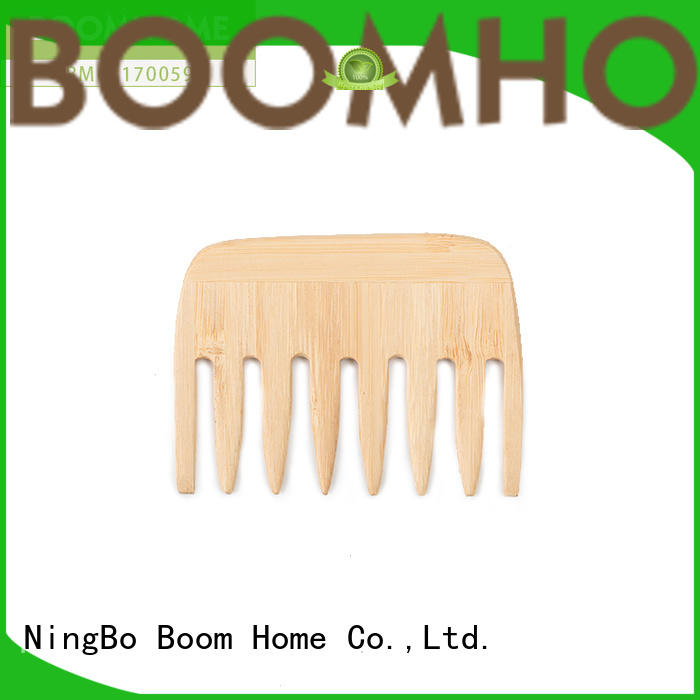 eco-friendly wooden hair brush stainless with good price for hotel