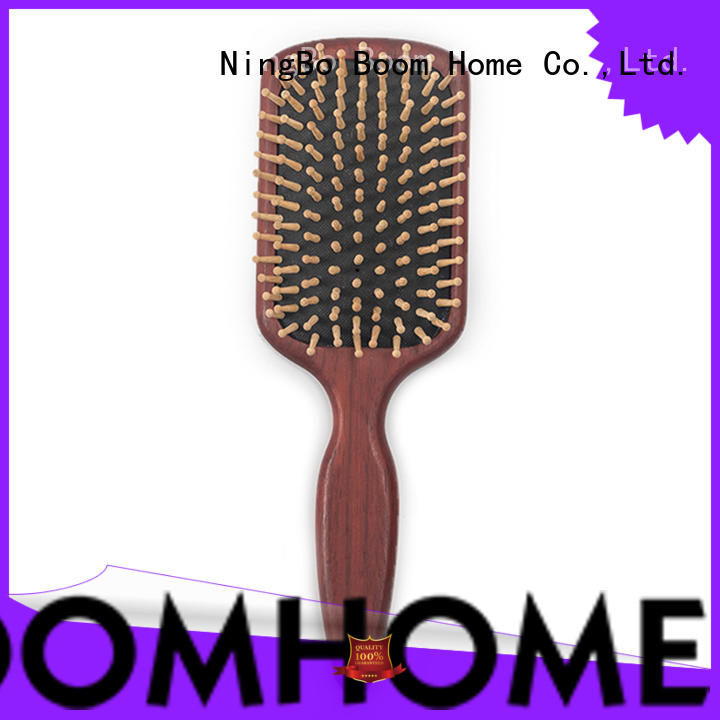 Boom Home price wooden handle hair brush with good price for home