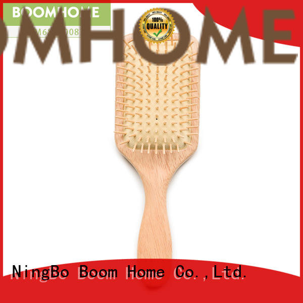 Boom Home High-quality wooden handle hair brush for business for hotel