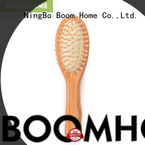 Boom Home small wood hair brush for business for hotel