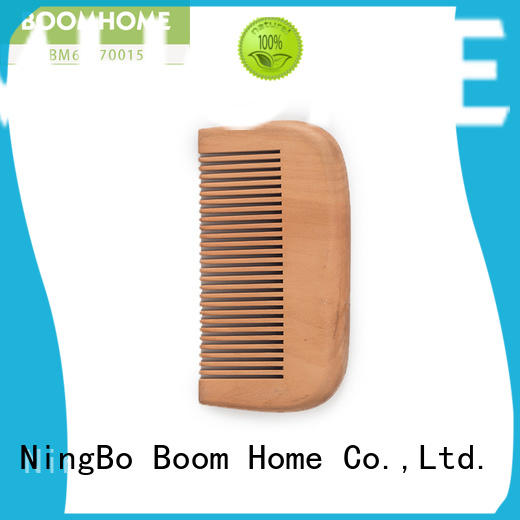 Boom Home round wooden handle hair brush inquire now for home