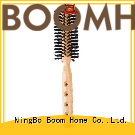 Boom Home anti-frizz round hair brush supplier for cleaning
