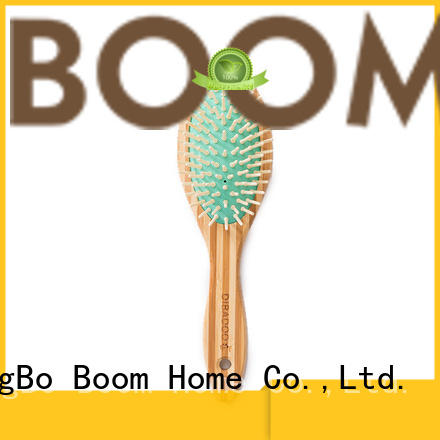 Boom Home High-quality bamboo comb manufacturers for curly hair