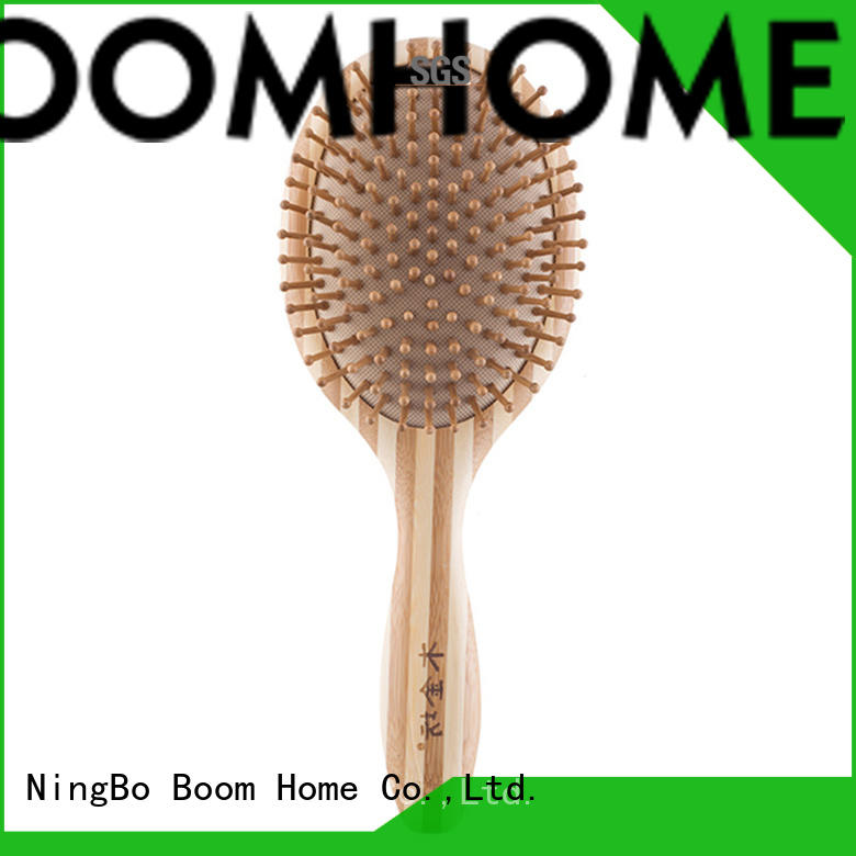 Boom Home small bamboo hair brush factory price for men