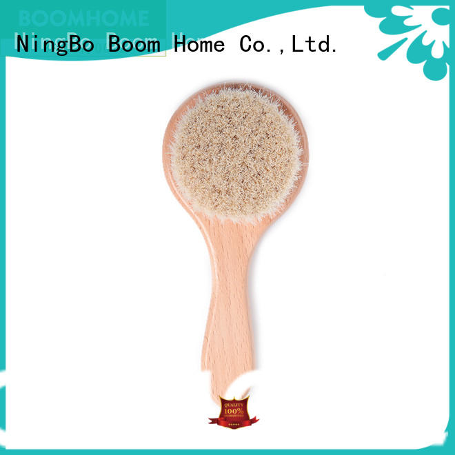 Boom Home eco-friendly toddler hair brush set customized for household