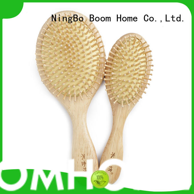 Boom Home horn wooden hair comb factory for home