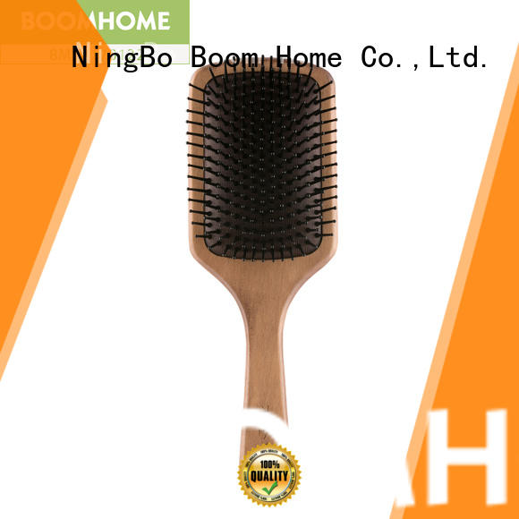 Boom Home round wood hair brush factory for home