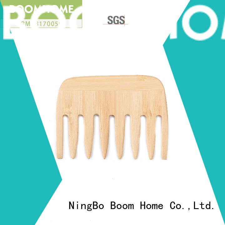 Boom Home easy wooden hair brush with good price for travel