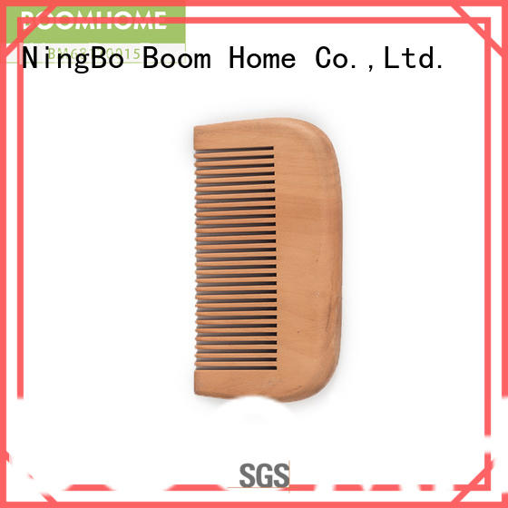round wooden comb label with good price for home