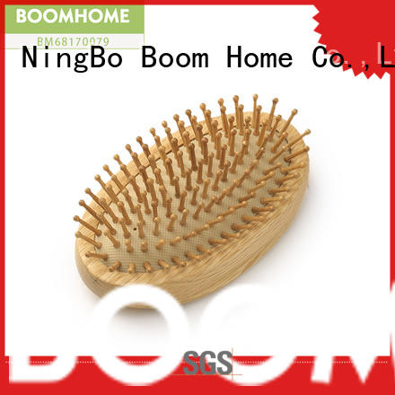 Boom Home Best wooden handle hair brush supply for shop