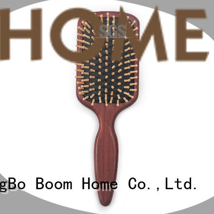 Boom Home natural wooden brush supplier for travel