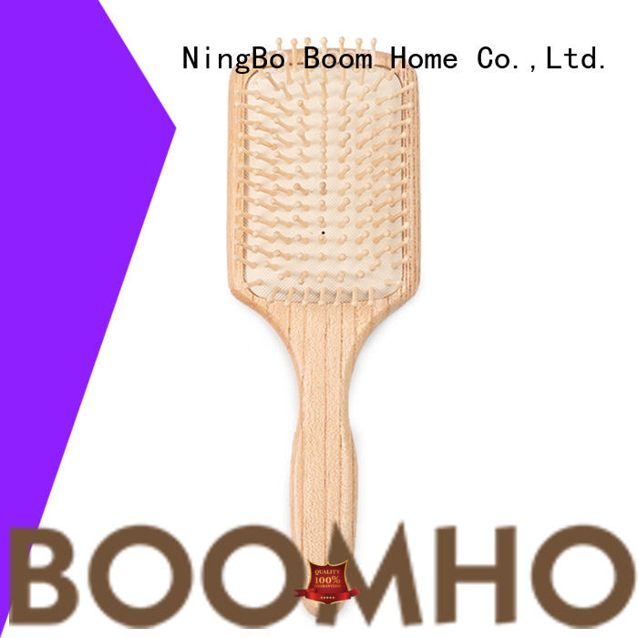 carry wooden handle hair brush design for shop Boom Home
