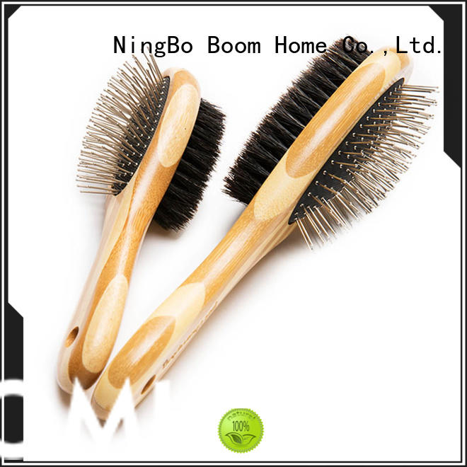 Boom Home unique pet grooming brush double for home