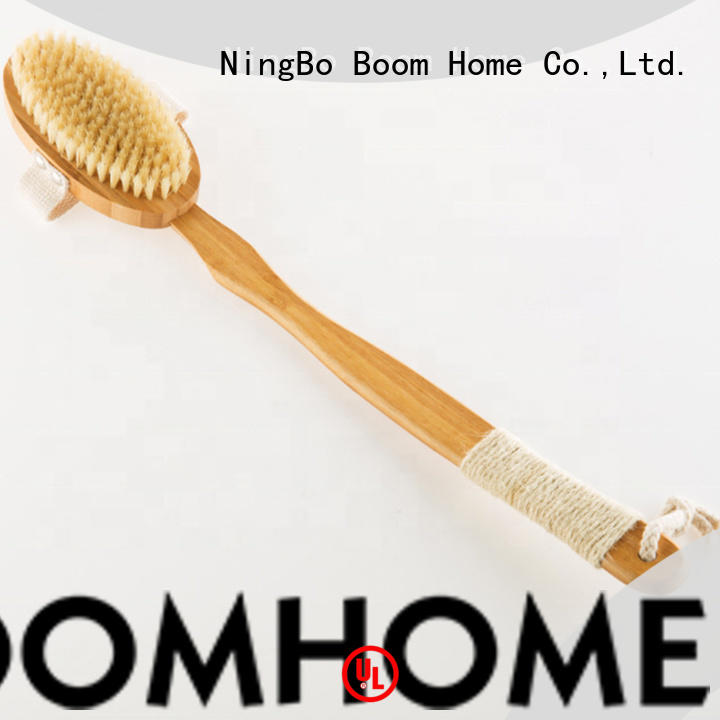 Boom Home bristle bath body brush manufacturer for shower