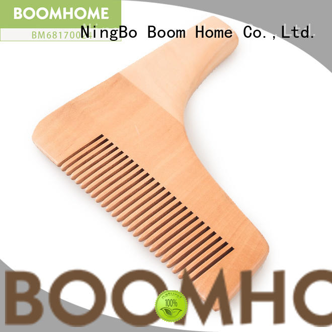 Boom Home large wooden paddle hair brush with good price for hotel