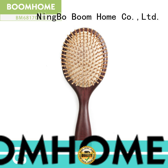 Boom Home noble olive wood hair brush supplier for shop