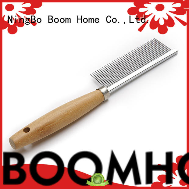 Boom Home double sided pet grooming brush inquire now for fur