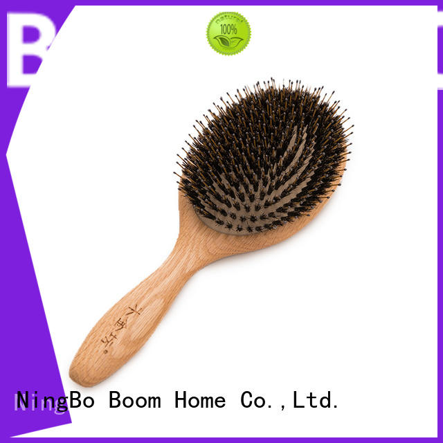 Boom Home large bamboo hair comb wholesale for thick hair