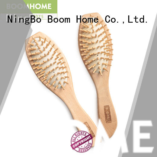 brands wooden boar bristle brush paddle for home Boom Home