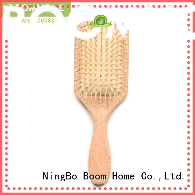 Boom Home scalp wooden handle hair brush for business for home