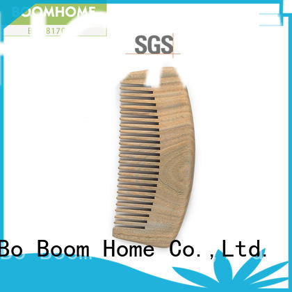 Boom Home noble wooden paddle hair brush pin for shop