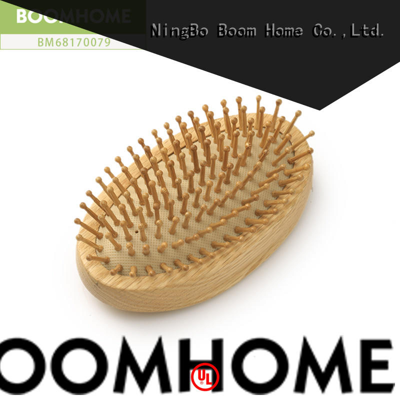 shower wooden paddle hair brush factory for home Boom Home