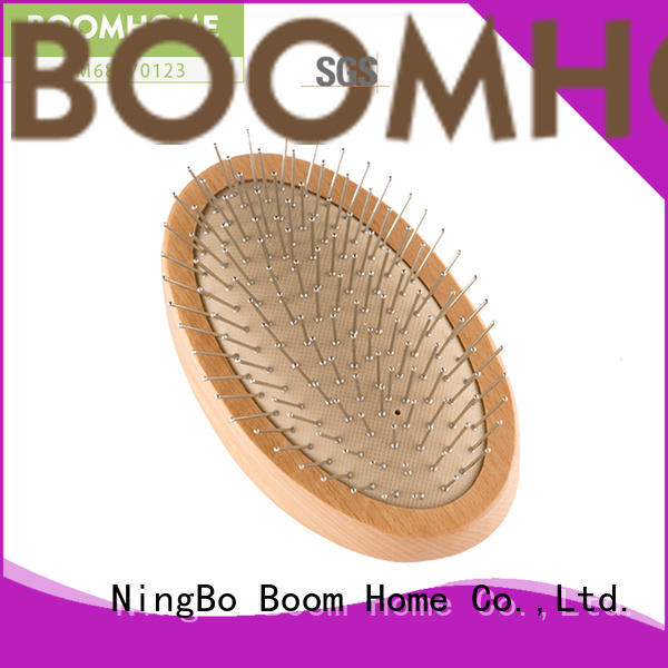 Boom Home anti-static wooden handle hair brush inquire now for hotel