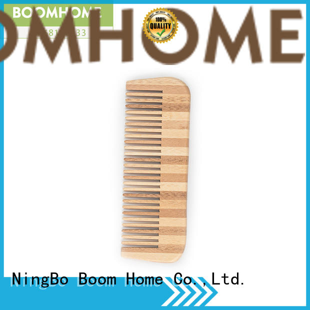 Boom Home Top bamboo paddle brush for sale for curly hair