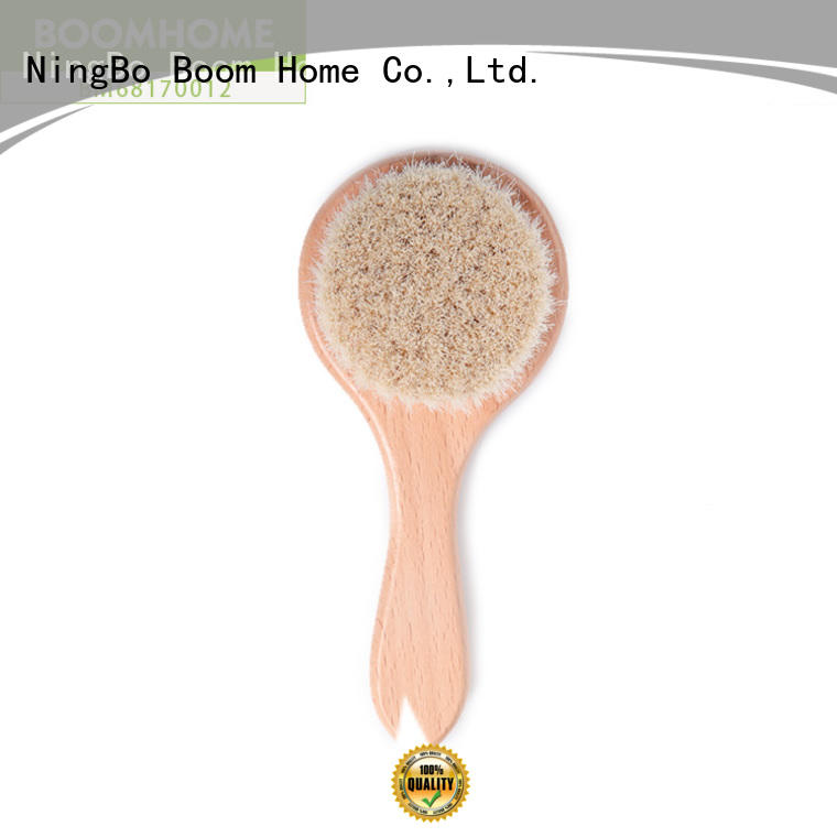Boom Home soft baby hair brush and comb set manufacturer for household
