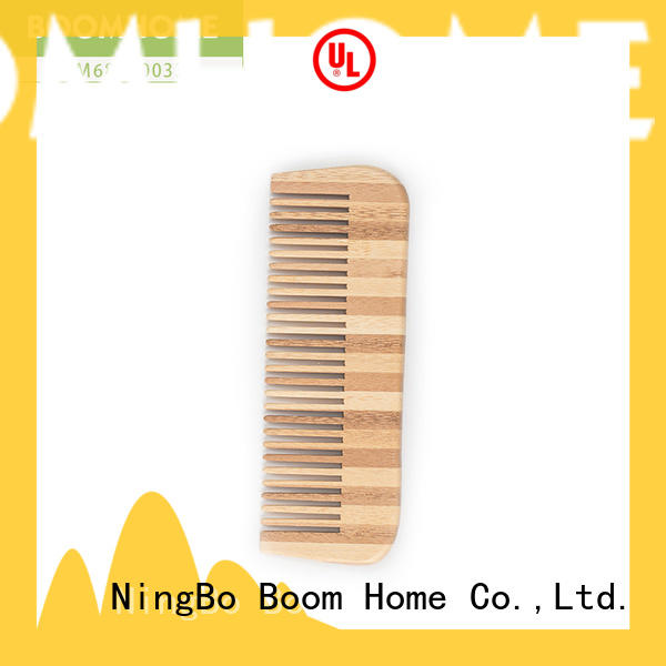 Boom Home gift bamboo hair comb suppliers for thick hair