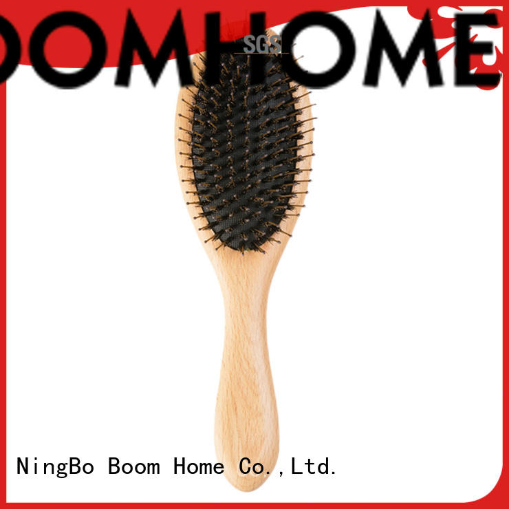 Custom boar hair brush nylon factory for bathroom