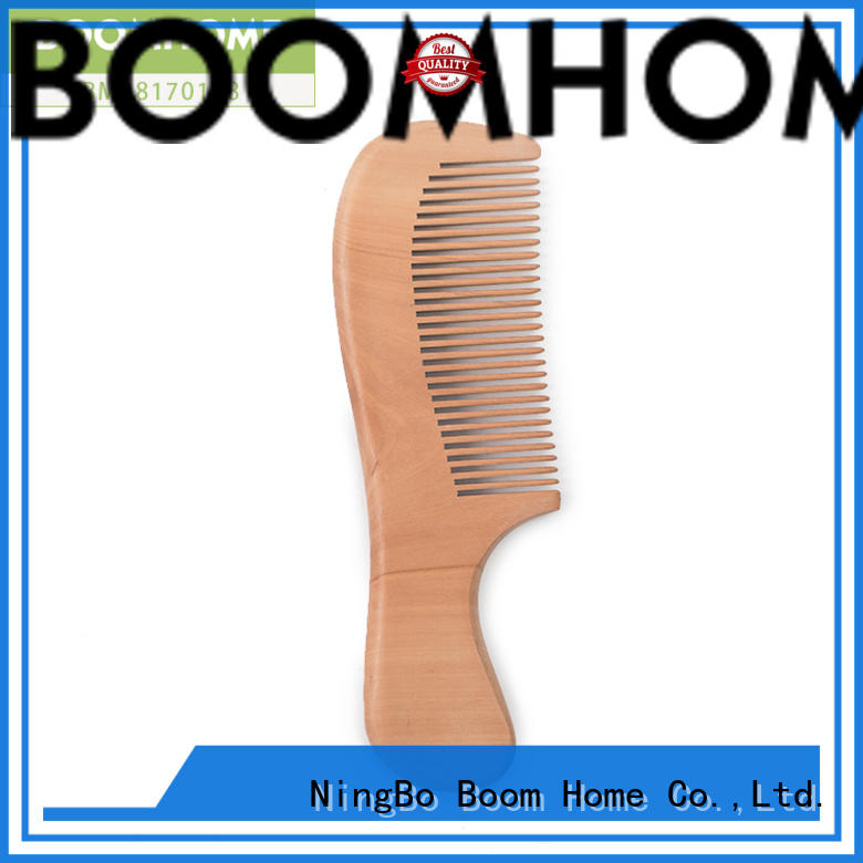 shower wooden handle hair brush with good price for shop