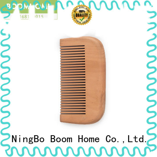 Boom Home portable wooden paddle hair brush factory for shop