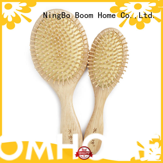 Latest wooden hair comb grooming company for hotel