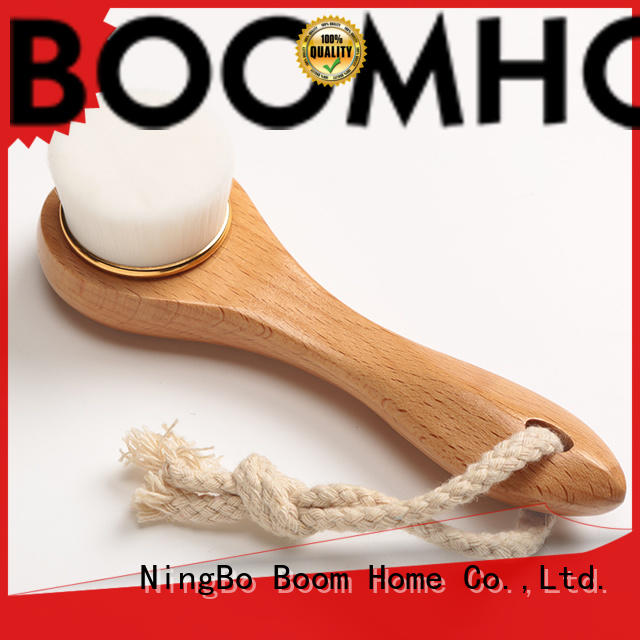 Boom Home gentle wooden face brush factory price for girls