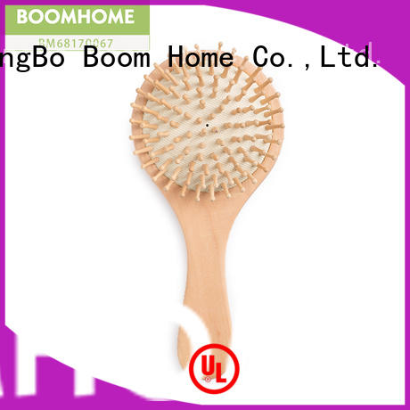 natural wooden paddle hair brush needle design for shop