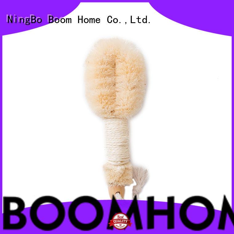 beech bath body brush bamboo customized for dry skin
